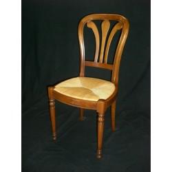 Chaise VANNES Louis Philippe en bois HÊTRE