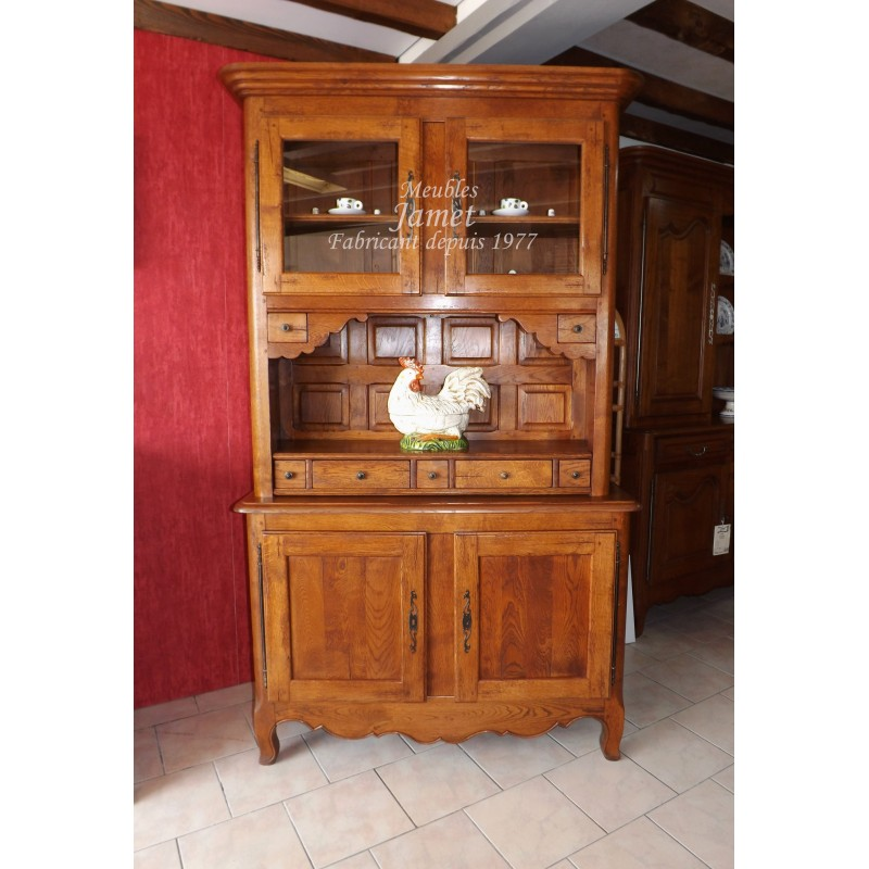 Buffet vaissellier meubles jamet for Buffet vaisselier
