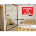 Dressing Contemporain double porte coulissante