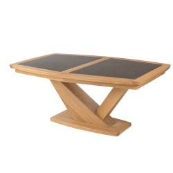 Table contemporaine tonneau. Réf. TOK 150
