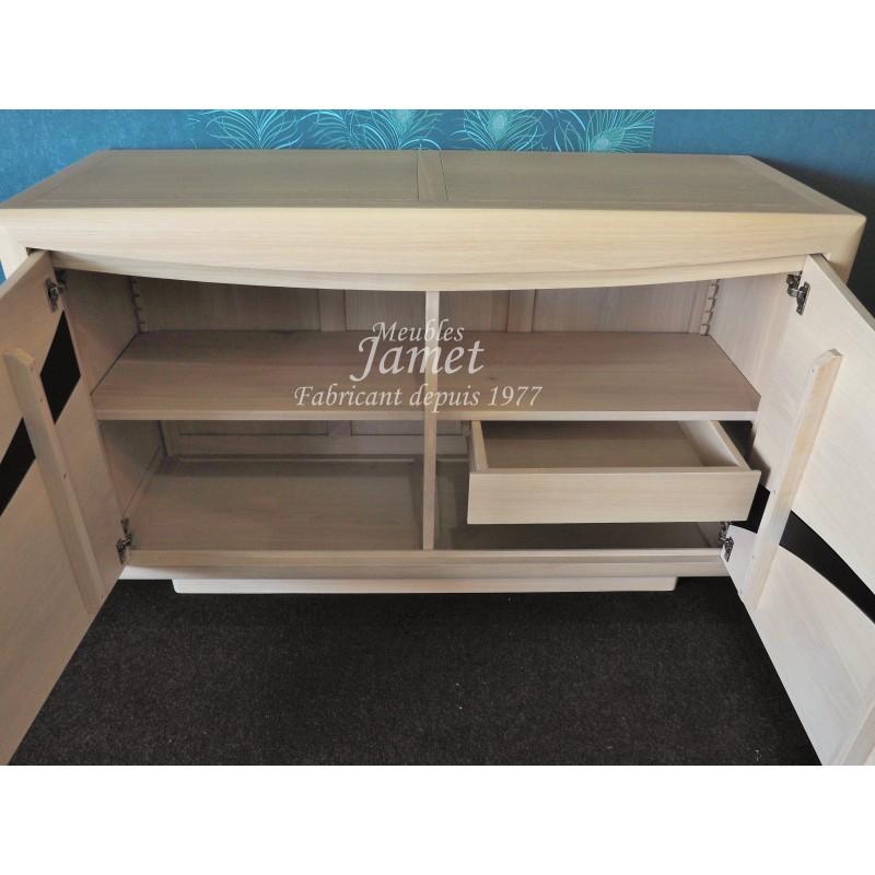 Buffet bas contemporain 2 portes meubles sur mesure fabricant de meuble contemporain - Fabricant de meuble contemporain ...