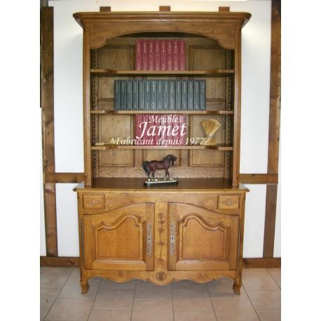biblioth que moderne meubles jamet. Black Bedroom Furniture Sets. Home Design Ideas