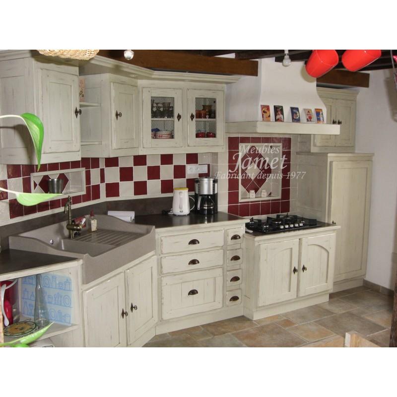 cuisine sur mesure laqu e meubles jamet. Black Bedroom Furniture Sets. Home Design Ideas