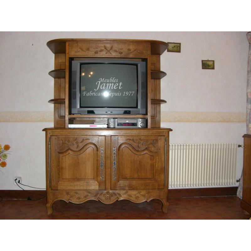 meuble tv sculpt meubles jamet. Black Bedroom Furniture Sets. Home Design Ideas