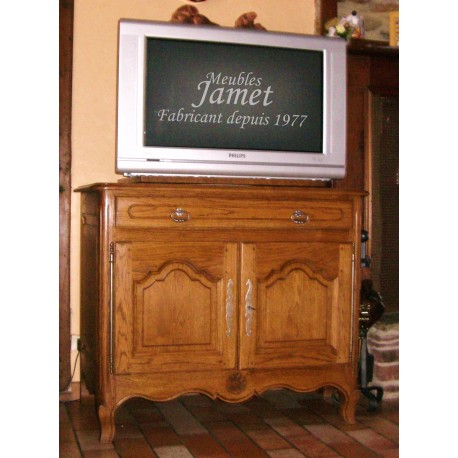 meuble tv normand grand tiroir meubles jamet. Black Bedroom Furniture Sets. Home Design Ideas