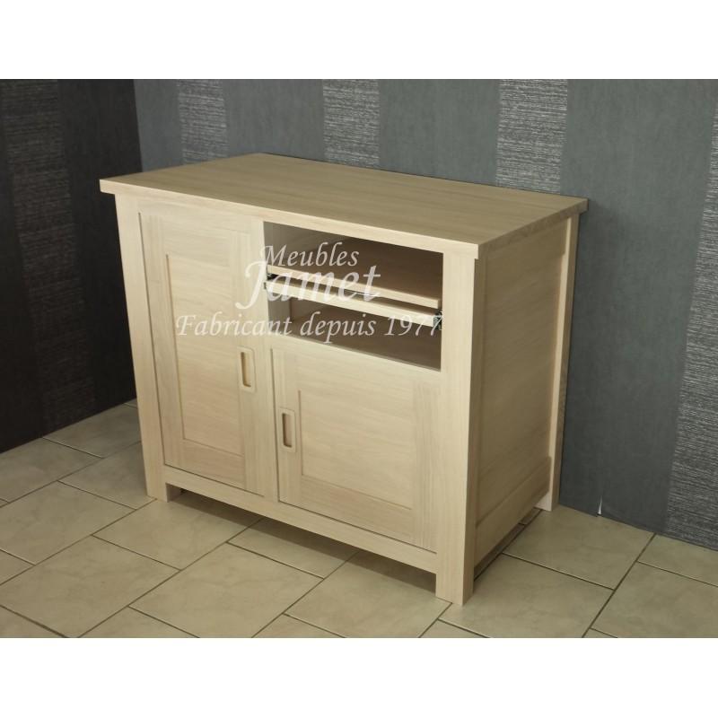 meubles tv hifi beige lisse meubles jamet. Black Bedroom Furniture Sets. Home Design Ideas