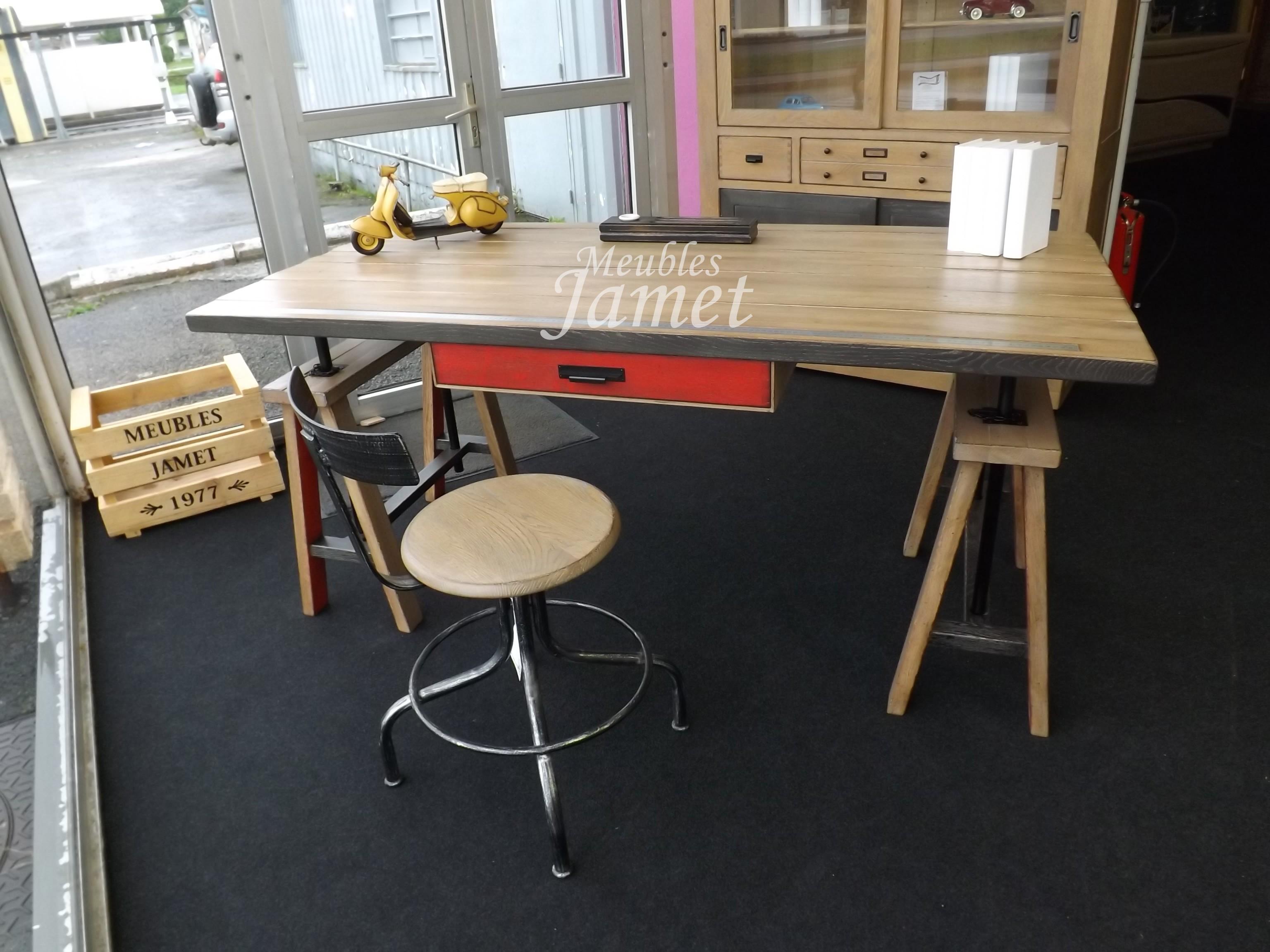 Bureau style atelier moderne meubles jamet