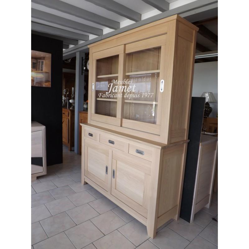 deux corps contemporain double vitrine meubles jamet. Black Bedroom Furniture Sets. Home Design Ideas