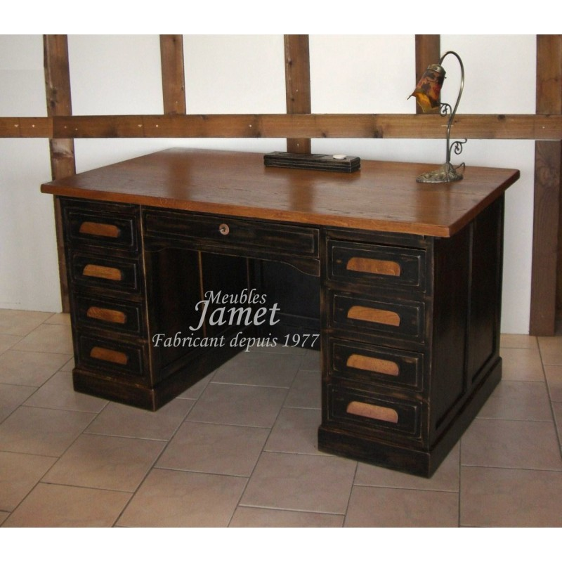 bureau de ministre en ch ne meubles jamet. Black Bedroom Furniture Sets. Home Design Ideas