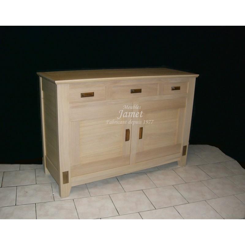 buffets bas contemporain moderne en ch ne meubles jamet. Black Bedroom Furniture Sets. Home Design Ideas