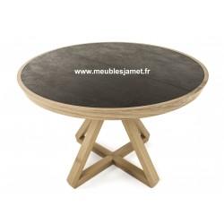 Tables ronde dessus en céramique