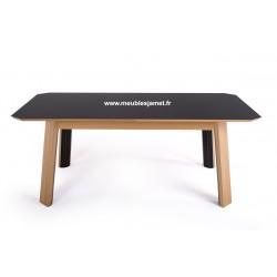 Table contemporaine rectangulaire