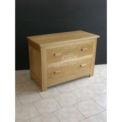 Commode contemporaine en chêne