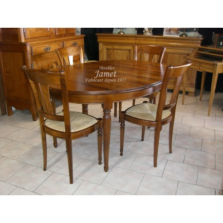 Table ronde Louis Philippe 6 pieds