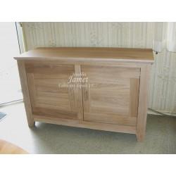 buffet contemporain en bois 2 portes