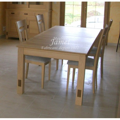 Table rectangulaire contemporaine. Réf. T5201