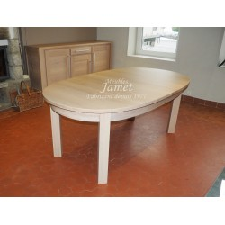 Table ovale contemporaine. Réf. T5124