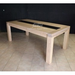 Table rectangulaire contemporaine. Réf. T5208