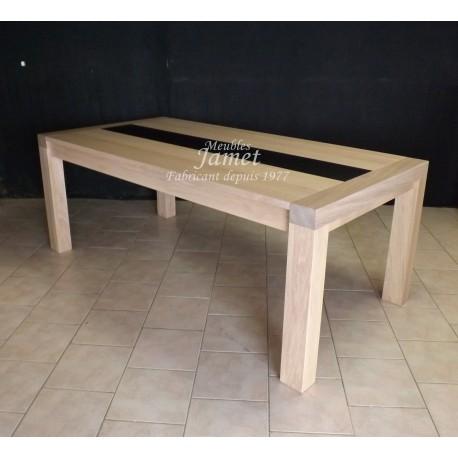 Table rectangulaire contemporaine. Réf. T5208