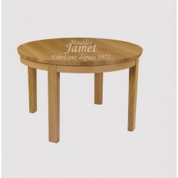 Table Ronde Contemporaine En Bois Massif Table Contemporaine
