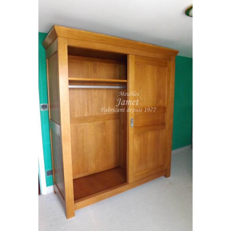 armoire contemporaine meubles jamet. Black Bedroom Furniture Sets. Home Design Ideas