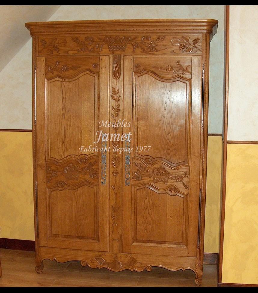 armoire normande fashion designs. Black Bedroom Furniture Sets. Home Design Ideas
