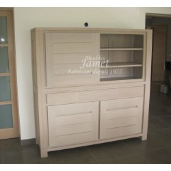 Buffet Contemporain en bois fin