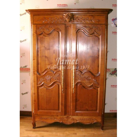 armoire normande ancienne meubles jamet. Black Bedroom Furniture Sets. Home Design Ideas