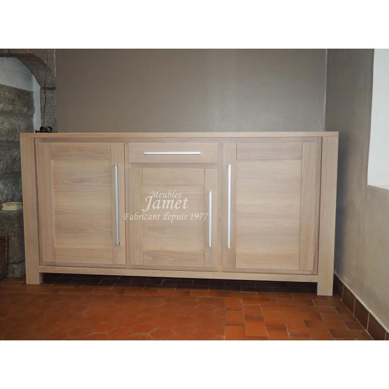 meuble normand contemporain buffet enfilade 3 portes. Black Bedroom Furniture Sets. Home Design Ideas