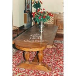 Table monastère en bois