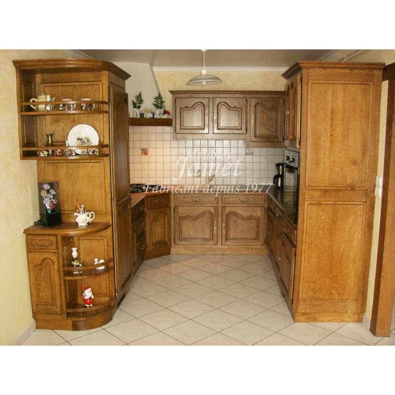 cuisine rustique meubles jamet. Black Bedroom Furniture Sets. Home Design Ideas