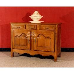 meuble bas normand en bois