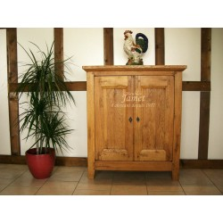 meuble bas campagnard en bois travaill meubles jamet. Black Bedroom Furniture Sets. Home Design Ideas