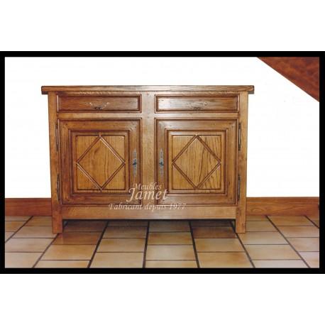 meuble bas louis xiii meubles jamet. Black Bedroom Furniture Sets. Home Design Ideas