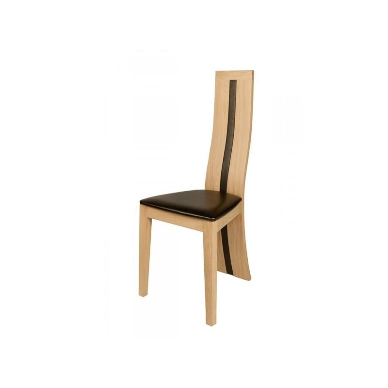 chaise contemporaine anis bois clair meubles jamet. Black Bedroom Furniture Sets. Home Design Ideas