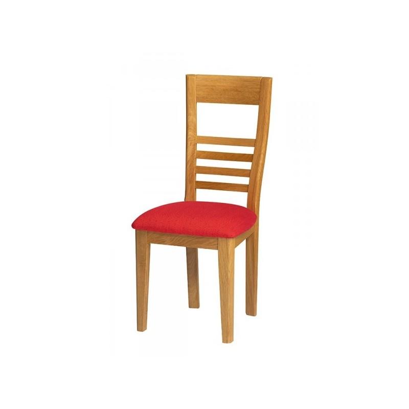 chaise contemporaine safran rouge classique meubles jamet. Black Bedroom Furniture Sets. Home Design Ideas