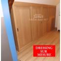 Dressing Contemporain en bois lisse