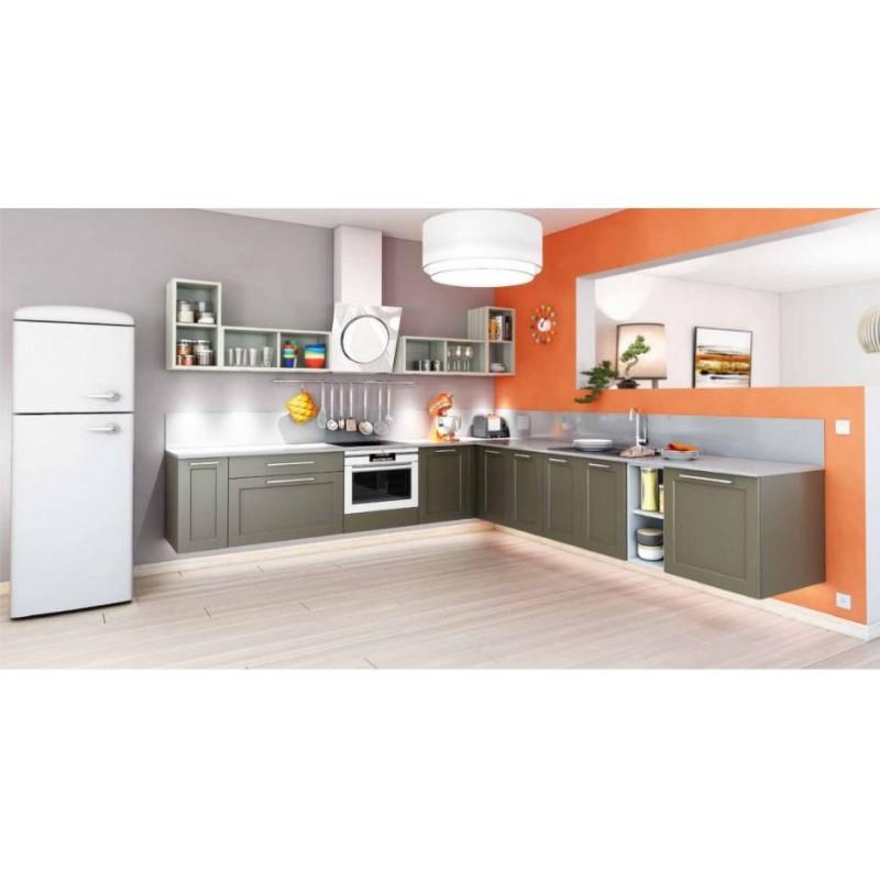 Cuisine contemporaine avec ilot central meubles jamet - Cuisine contemporaine avec ilot central ...