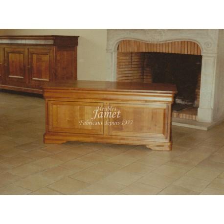 tables de salon rustique en bois meubles jamet. Black Bedroom Furniture Sets. Home Design Ideas