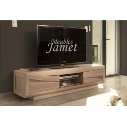 Meuble TV Contemporain en chêne Réf. MT 101