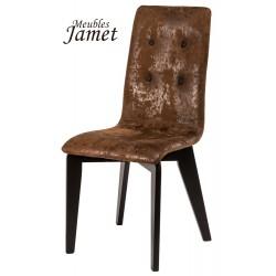 Chaise design YAM en chêne