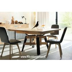 Table de repas carrée style Atelier