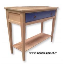 Console contemporaine 1 grand tiroir