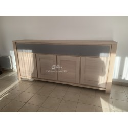 Enfilade contemporaine 4 portes 4 tiroirs