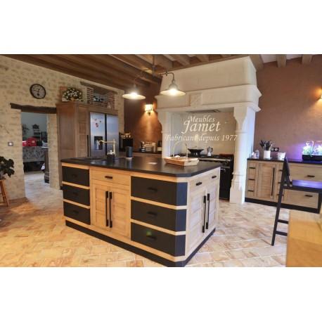 Ensemble cuisine Style Atelier