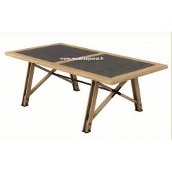 Table style Atelier dessus céramique