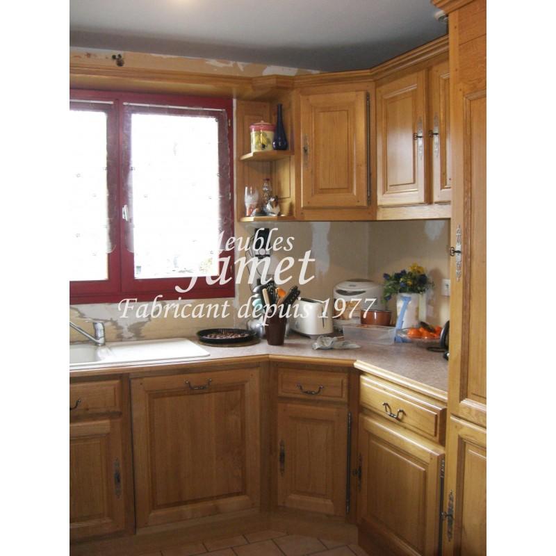 Cuisine rustique meubles jamet - Cuisines rustiques ...