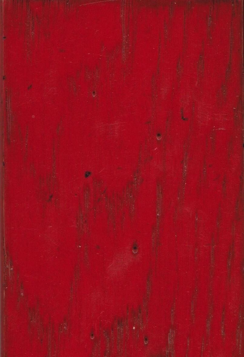 Rouge de Chine avec patine